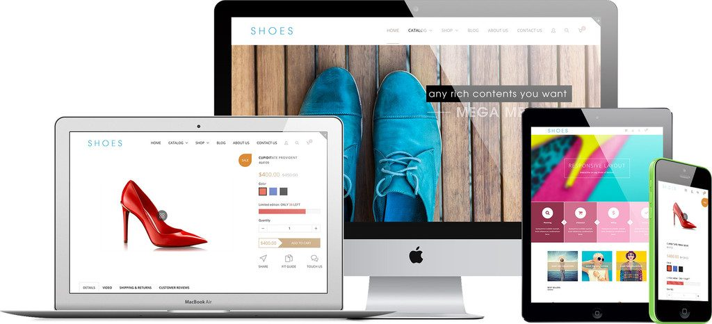 fashion - eye-catching theme for your startup