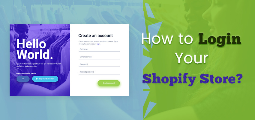 How To Login Shopify Store?
