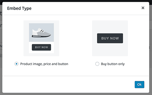 embed your products