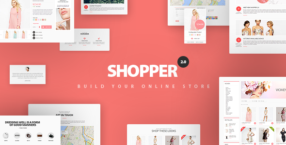 Shopper Magento Theme