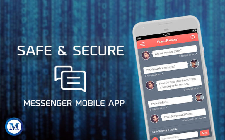 Secure Chat Mobile App