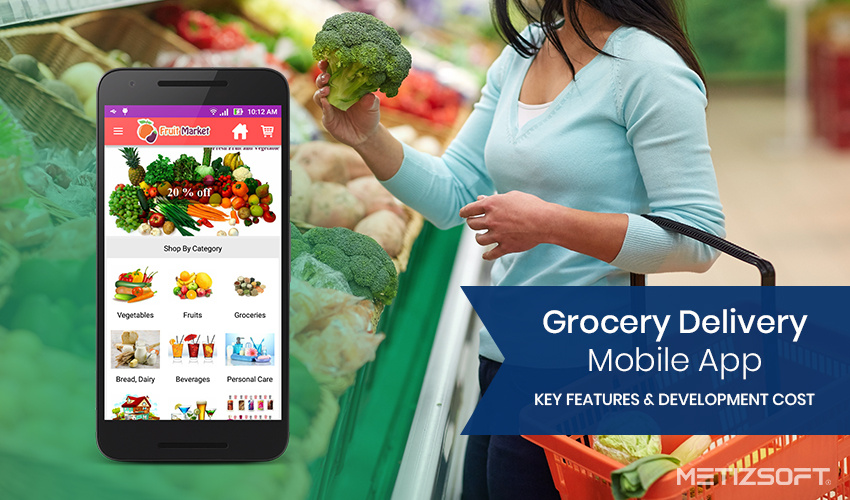 The Effective Features that an Online Grocery Shop should have & how much does it cost to develop a Grocery Delivery Mobile App?