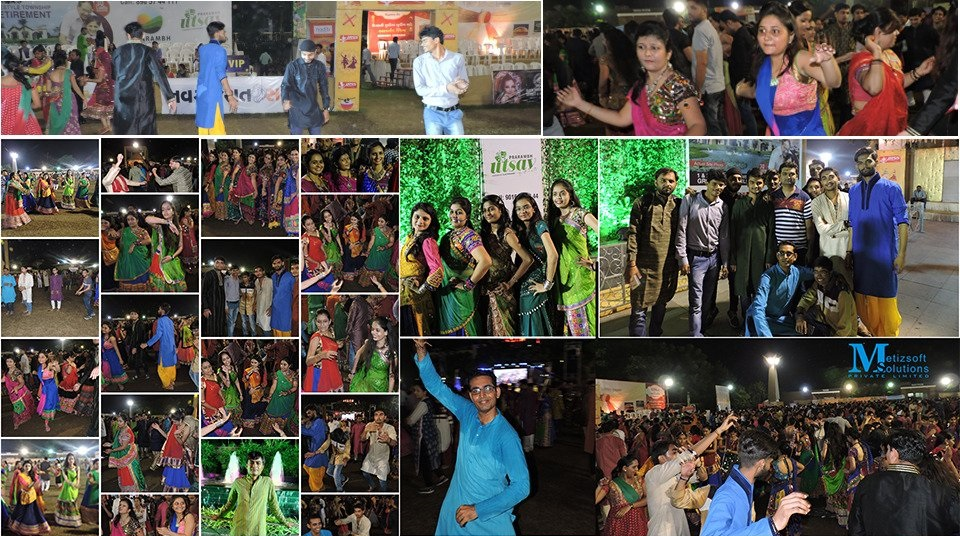 Enjoying The Essence of Navratri Together with Metizsoft Fellows