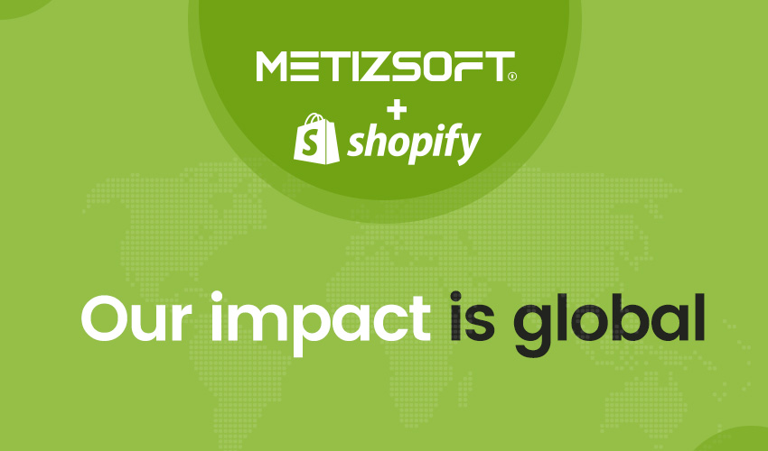Metizsoft + Shopify = Our Impact is Global