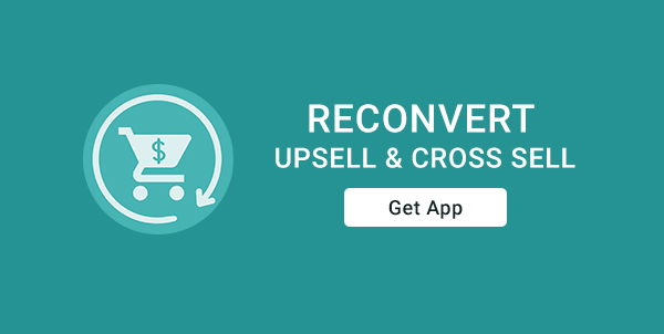 Reconvert Upsell and cross-sell
