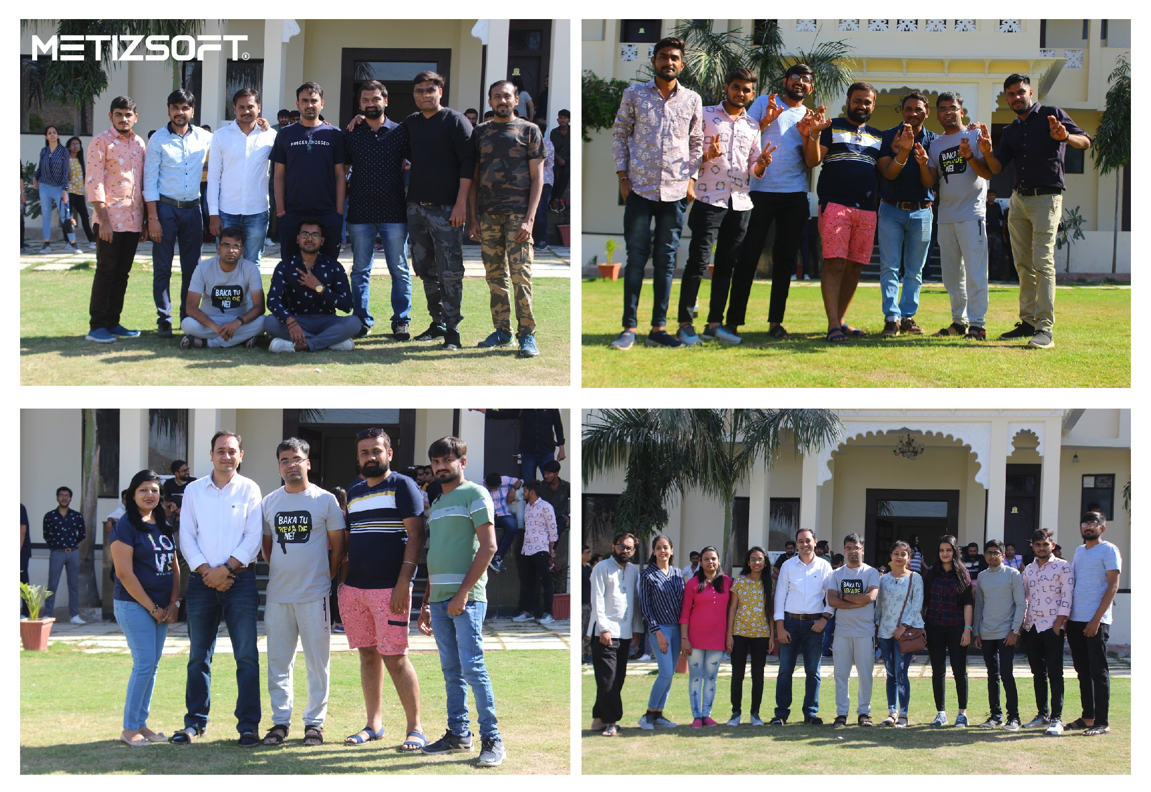 clicked group photo