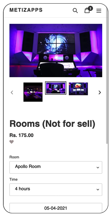 booking suite features